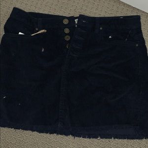 jean skirt, soft fabric